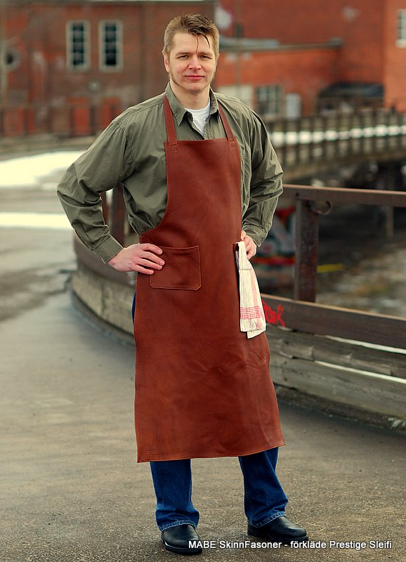 Leather apron, Prestige, L