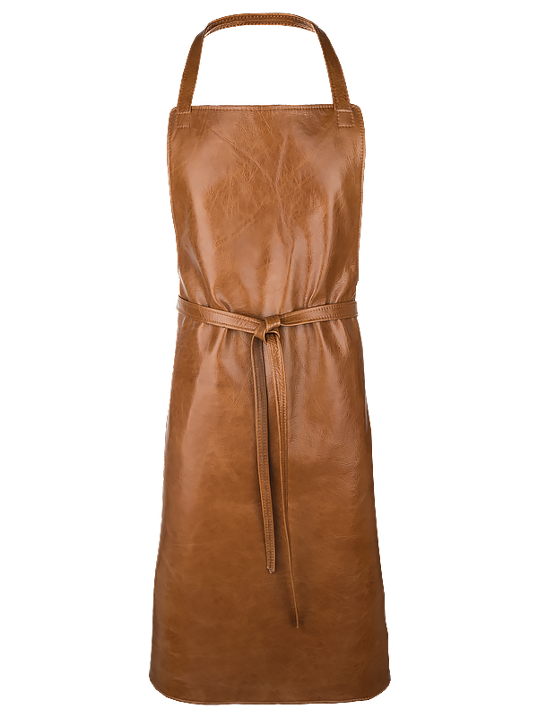 Aprons in leather, XL, long straps