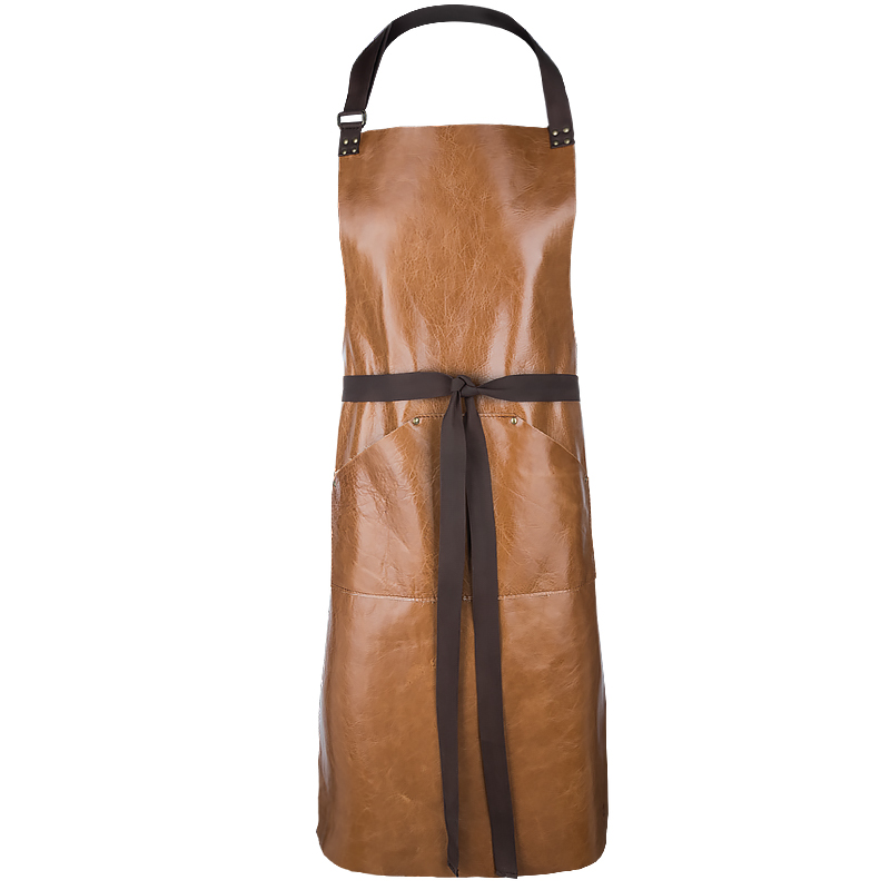Apron Gemini in Leather
