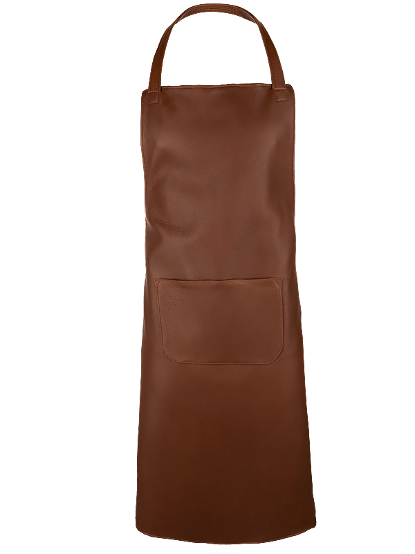 Leather Apron Prestige Kangaroo , XL, chestnut