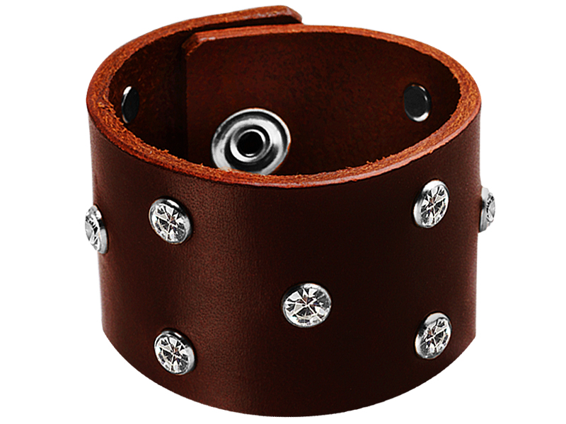 Leather bracelet Blenda