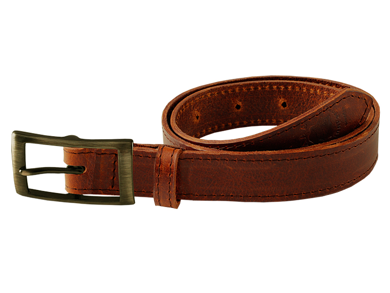 Leather belt Q
