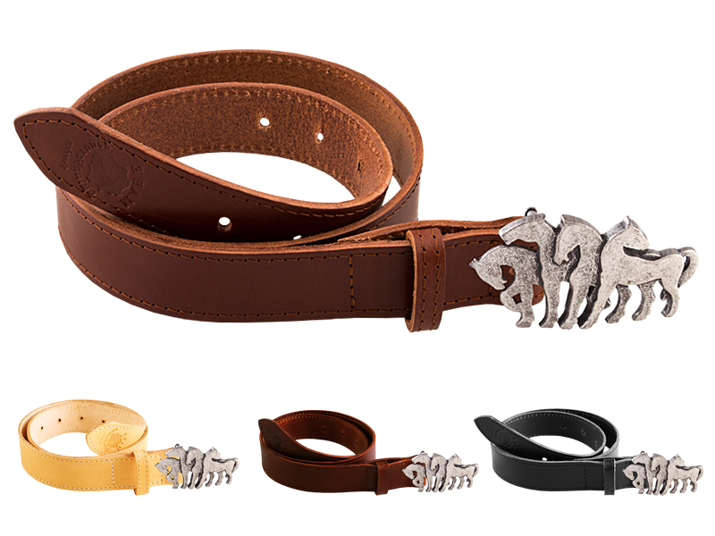 Leather belt H