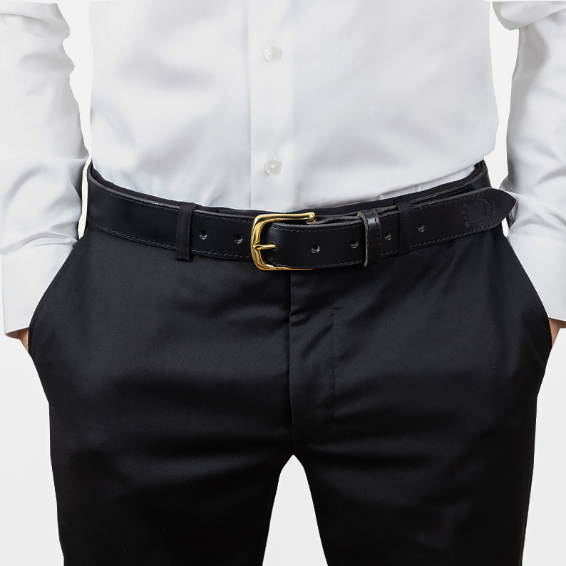 Leather belt D