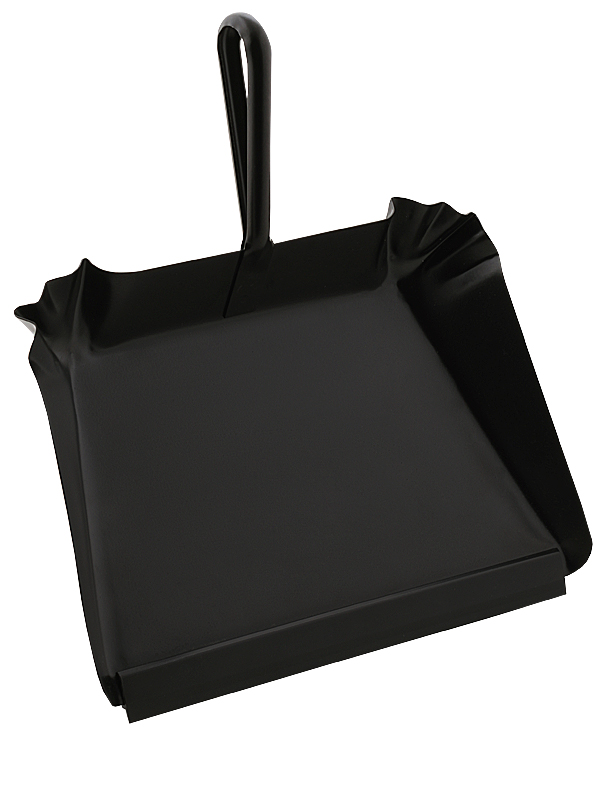 Dustpan in sheet metal