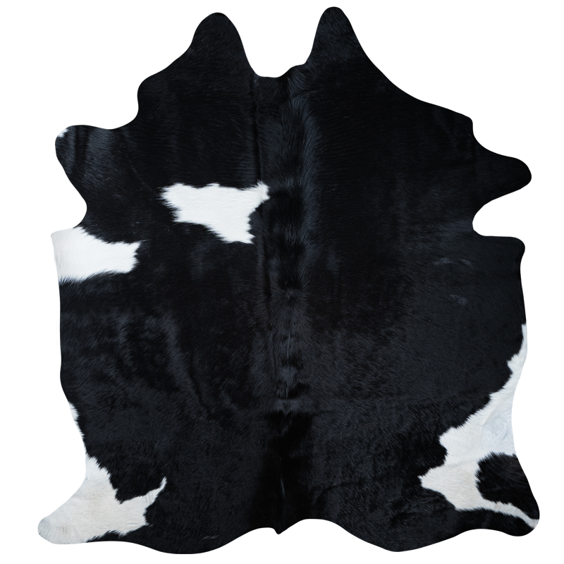 Cowhide Black White