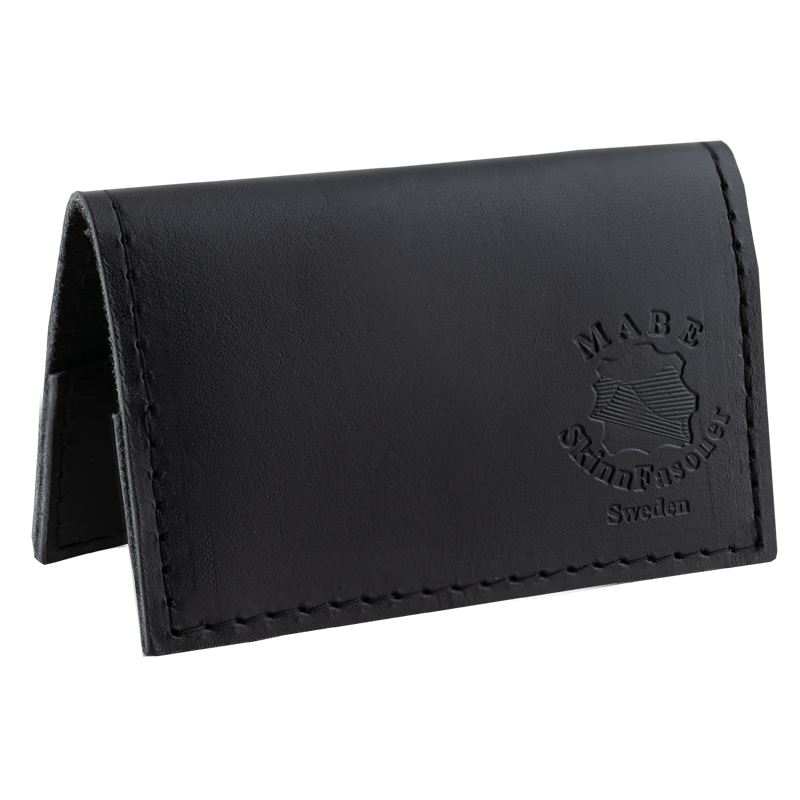 Card Holder in real leather black