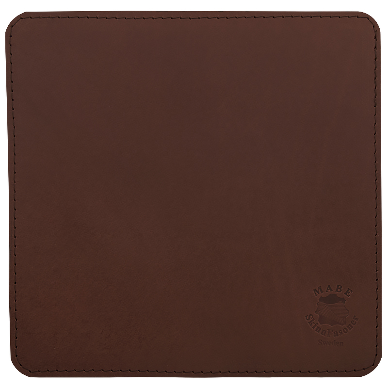 Mouse pad square Dark brown