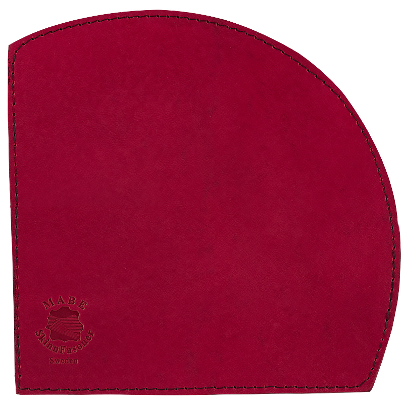 Mouse pad Half Moon red