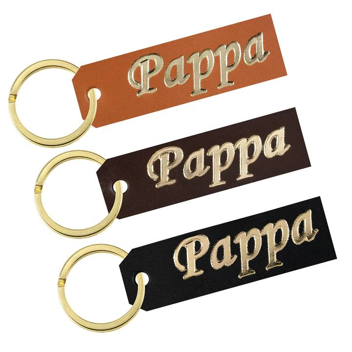 Key ring Father gold