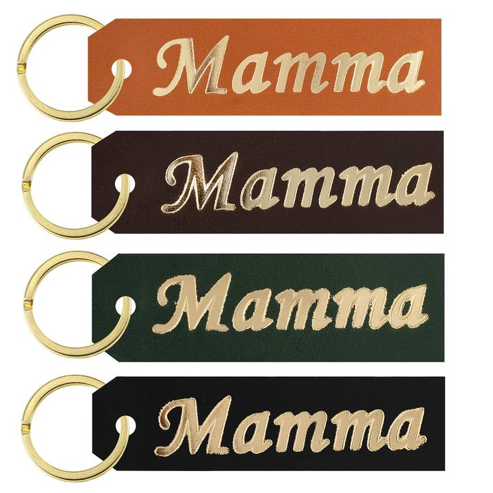 Key ring Mother gold