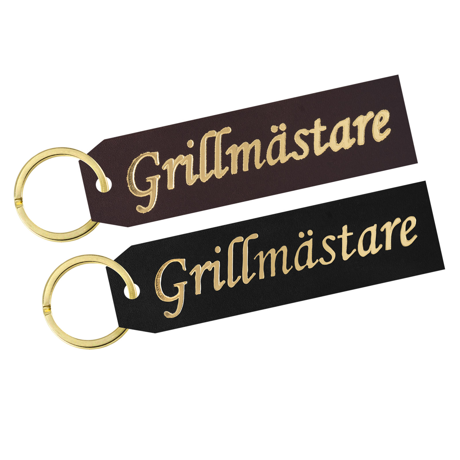 Key ring Grillmästare gold