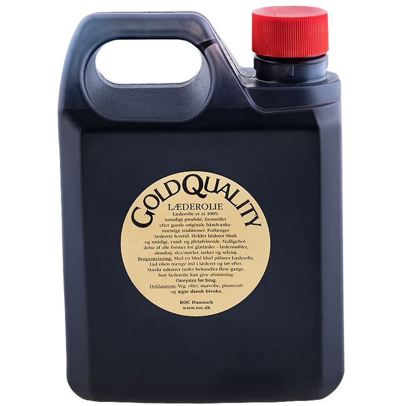 Leather oil black pigment 1000ml