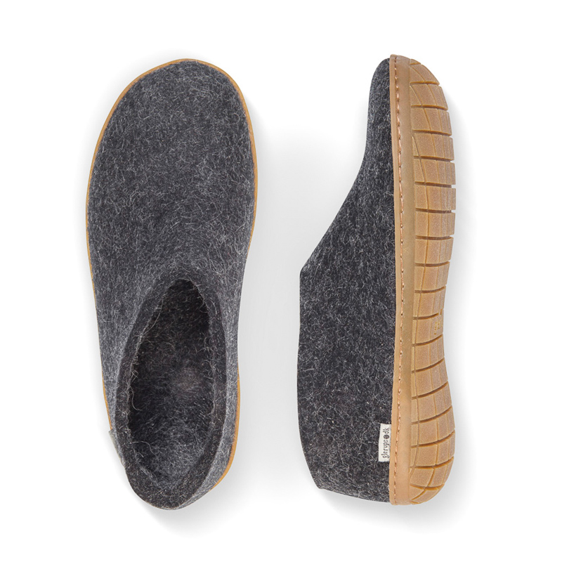 Felt shoe of 100% pure natural wool, 42