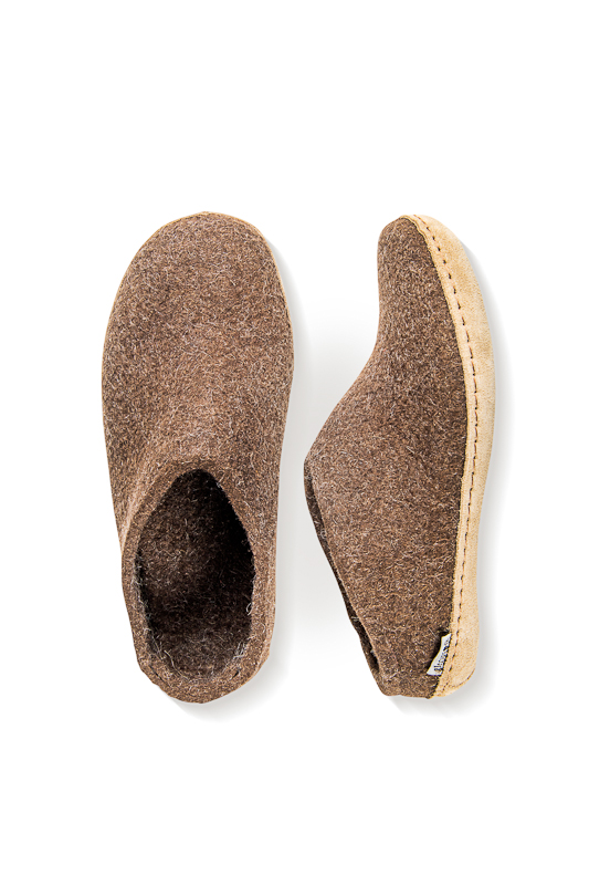 Slippers open heel - Nature Brown, 41