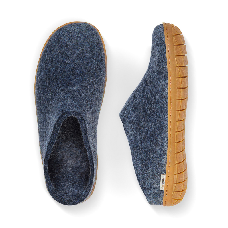 Denim Glerups slippers size 37