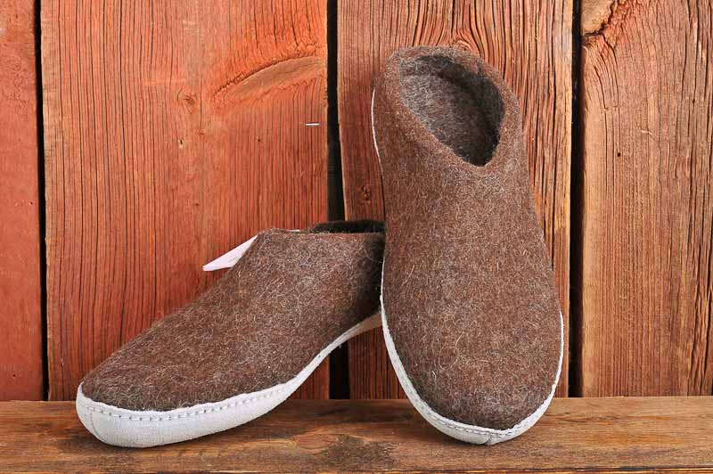 Open heel - Nature Brown, 41