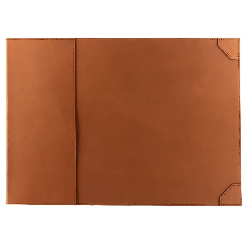Desk pad Monark in leather