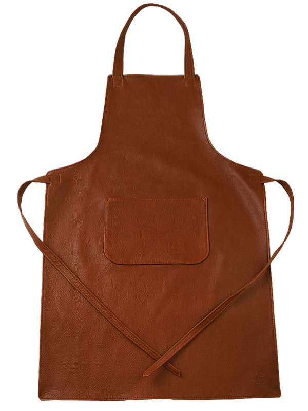 Aprons in leather