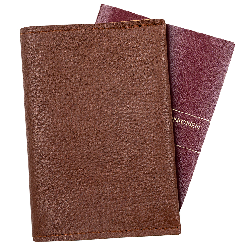 Passport holder Chestnut